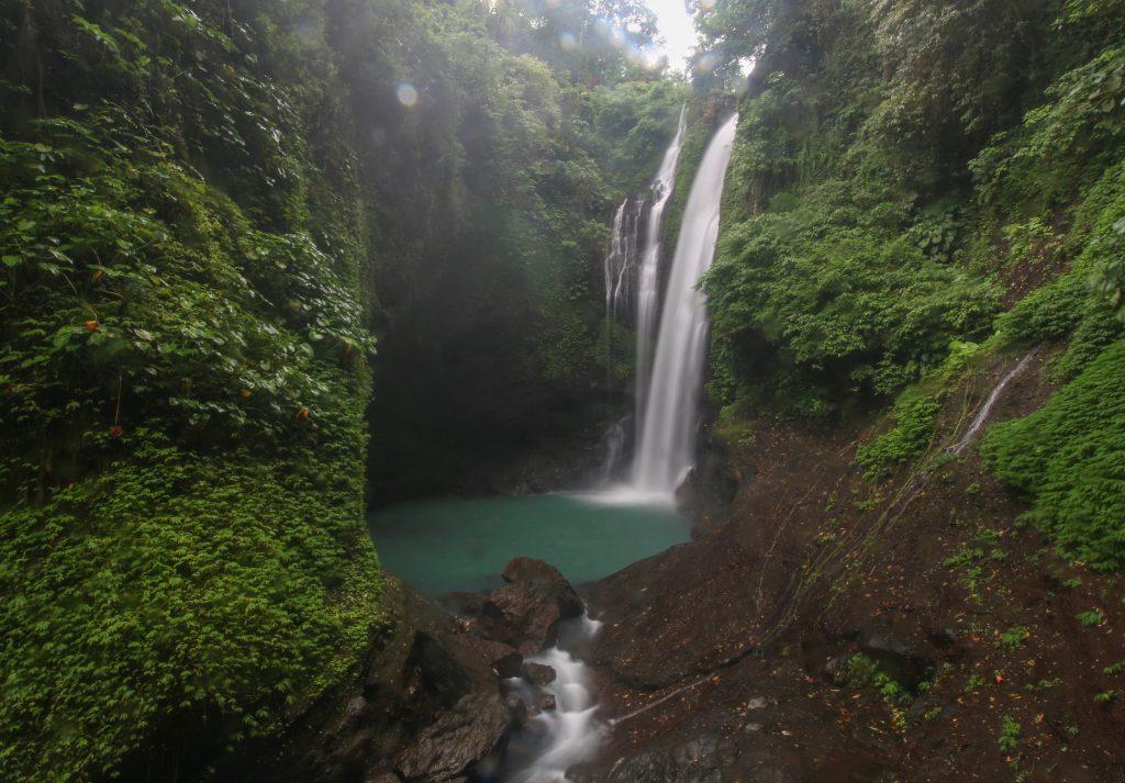 Cascada Aling aling waterfall