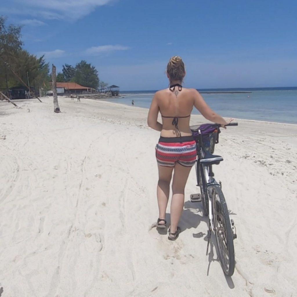 Bici bicicleta bike gili trawangan bali indonesia